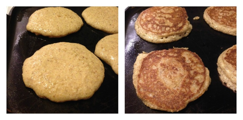 before and after pancakes